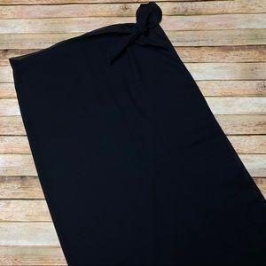 Dotti Swim Coverup Wrap Skirt Dress